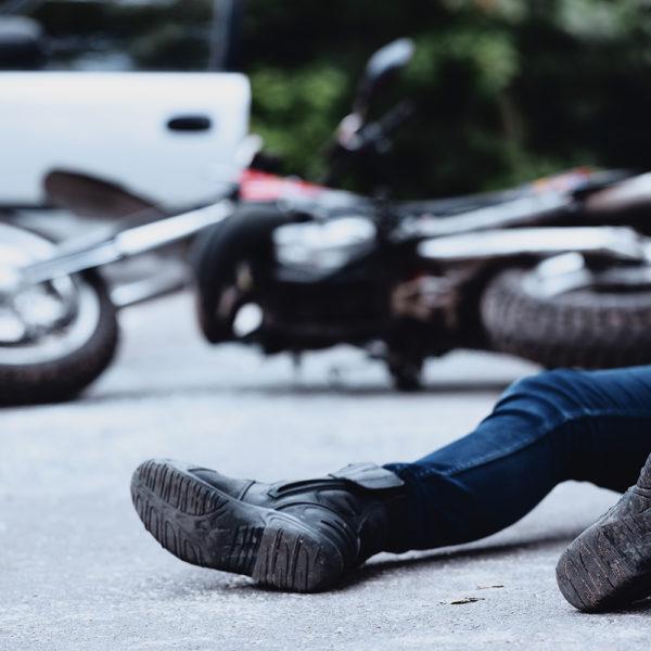 Bike/car accident