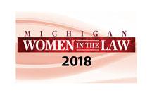 Michigan Women in the Law Badge 2018