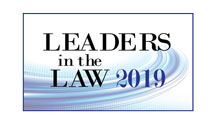 Leaders in the Law 2019 Badge