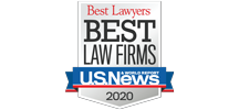US News Best Lawyers Best Law Firms Badge 2020