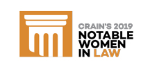 Crains 2019 Notable Women in Law